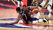 美国男篮不敌法国 世界大赛上48连胜被终结
