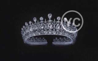 YC手绘钻石皇冠珠宝