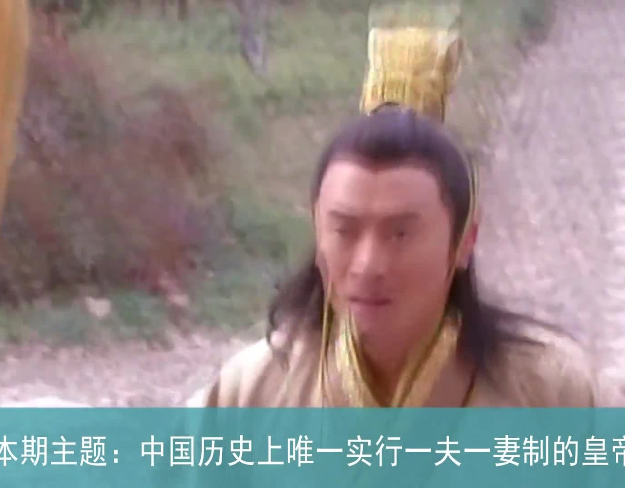 代就有一夫一妻制了?中国古代唯一实行一夫一制的皇帝