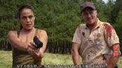 4分钟看搞笑恐怖片《巨鳄战狂蟒》, 大鳄鱼被蟒蛇完爆