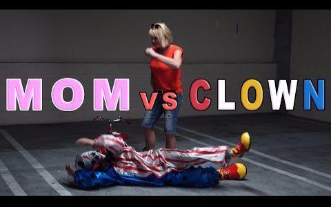 Logan Paul - MOM VS. KILLER CLOWN!