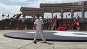 演员李冠志在电视剧《太极宗师之太极门》开机仪式,表演形意门金刚拳功夫,现场惊呆所有演员---