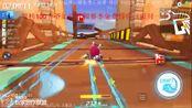 跑跑卡丁车:沙漠旋转工地2分22秒,主播酷宇丶莫敌冠军时刻