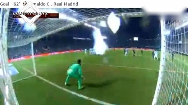 西国王杯塞尔塔VS皇马2-2进球集锦,C罗任意球破门难救主!