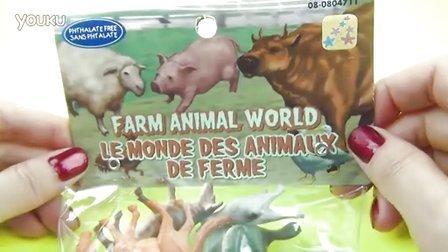 农场动物世界3D模型 认识动物 双语动物名称