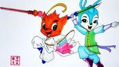 《虹猫蓝兔七侠传》手绘:被禁播的国产经典动漫,童年回忆杀