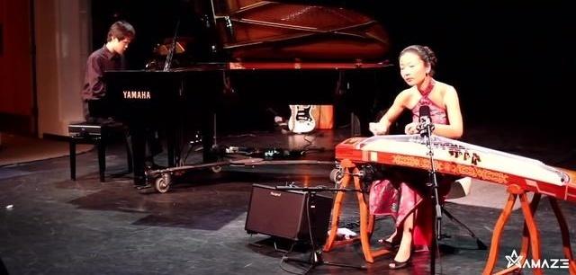钢琴古筝合奏世上最凄美之《临安遗恨》「Amaze视频」