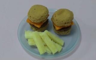 【杏乾兒搬运】RR-教你制作美国食玩系列之-汉堡套餐~