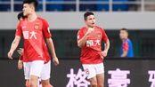 中超-埃尔克森征服水滴回归即破门 天津泰达0-3广州恒大