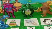 少儿益智游戏玩具:快来选出你心中的怪兽之王吧