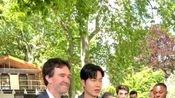 2020春夏男装周,巴黎遇到李敏镐,近距离认证欧巴的大长腿