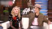 贾斯汀·比伯和麦当娜在《艾伦秀》玩真心话大冒险,笑死粒