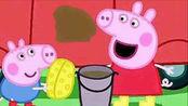 工程车挖掘机推土机工地作业动漫视频 佩佩猪动漫 /游戏大风车