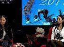 中国最美女教练王娜携手花游姐妹花做客央视【风云会】