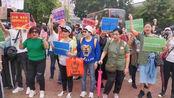 赞!数百名香港市民元朗大集结:爱中国爱香港 这是我们的主场!