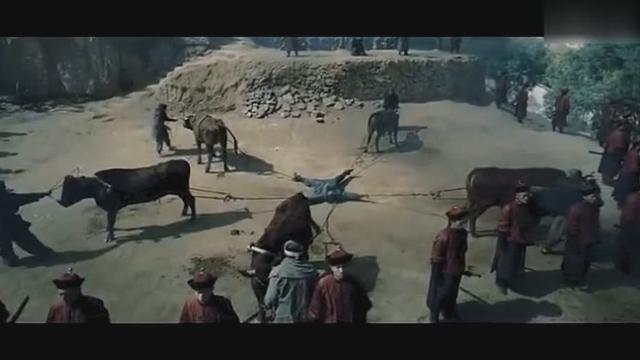 五牛分尸,顷刻将活人撕扯成五块血肉,胆小勿入!