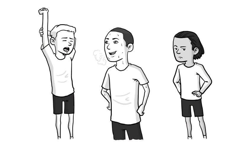 美国牛人用黑白画线描绘出斯蒂芬-库里的篮球人生!太厉害了啊