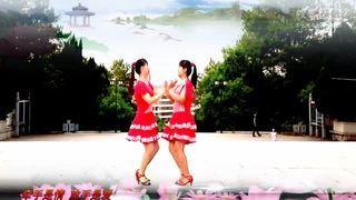 广场舞《牵手情放手爱》双人对跳