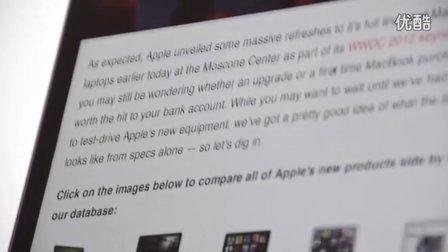 MacBook Pro Retina抢先试玩