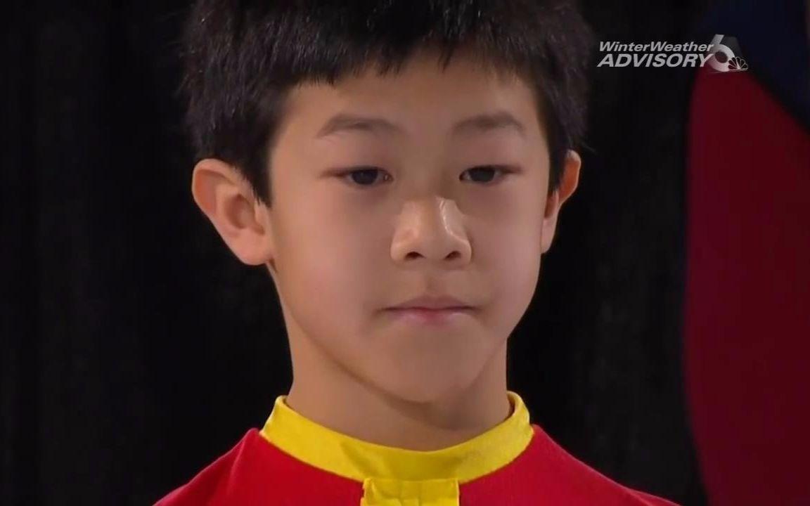 【2010全美青少年组冠军】Nathan Chen还是萌正太的陈巍(五四青年)