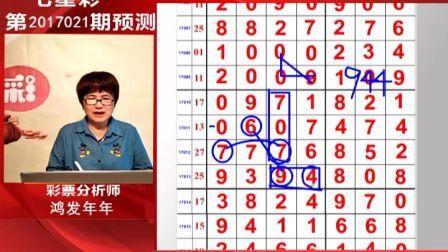 《说彩》2017-2-24七星彩第三套开奖预测资讯