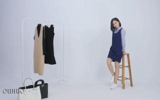 红人装出品--欧惑OUHUO棚内服装展示视频008
