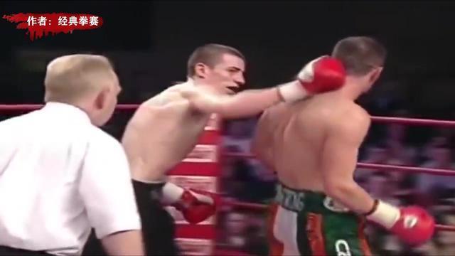 一心求死!拳手比赛中突然放弃防守被对手连环重拳KO