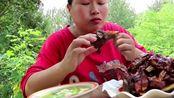胖妹买5斤排骨做美食,糖醋排骨念叨很久了,一次吃一盆吃过瘾!