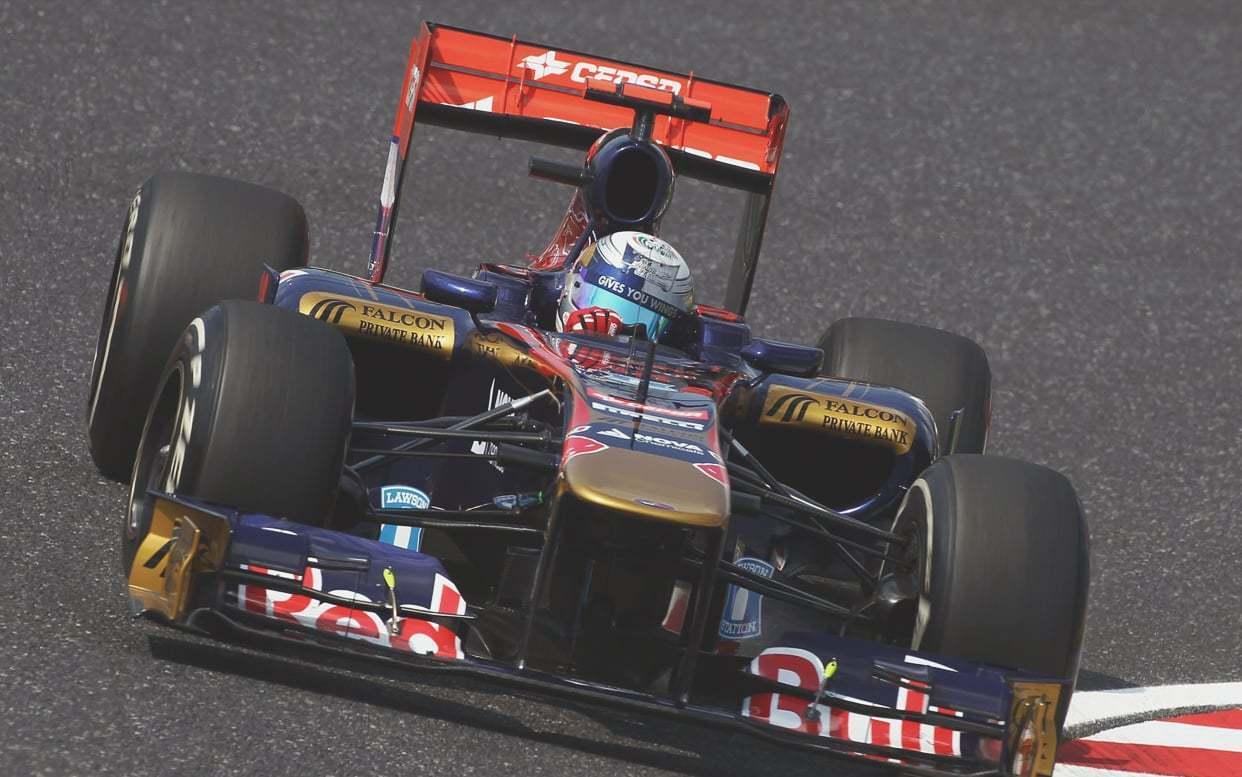 驾驶座上的 F1 赛车全景体验
