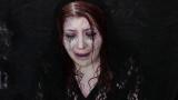 哭泣的女人万圣节妆容