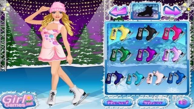 芭比娃娃女孩滑冰瓦莱里娅·卢基亚诺娃 吉德利卡·贾斯汀充气妹
