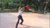 山西李桂珍师傅演练的形意拳六合大枪 厉害 了