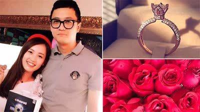 马蓉疑似接受宋喆求婚