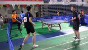 省大运会 | 男双小组赛张伟韩建政2:0吴非彭顺