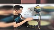 非洲鼓教学《Monster》ladygaga流行音乐手鼓零基础入门乐器教程