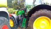 迪尔6175R精选版6.8升6缸柴油拖拉机175hp带播种机