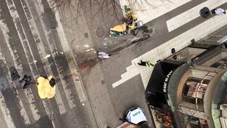 斯德哥尔摩卡车撞人群造成至少3死 事件性质不明