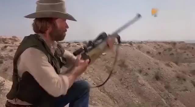 牛逼不。神枪手啊。