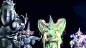 百兽战队:牙吠银抵抗再次变成狼鬼,邪气进入怪物体内使其究极体