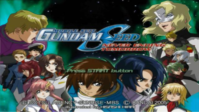 PS2游戏-机动战士高达SEED飞向永远的明天-片头动画