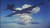 U2侦察机采样核试验蘑菇云