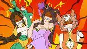 王者荣耀搞笑小动画:《马可菠萝与神灯》