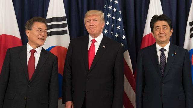 """白宫義见No.70 特朗普走访日韩""""小跟班"""" """"牢不可破""""同盟关系还能一如既往吗?"""