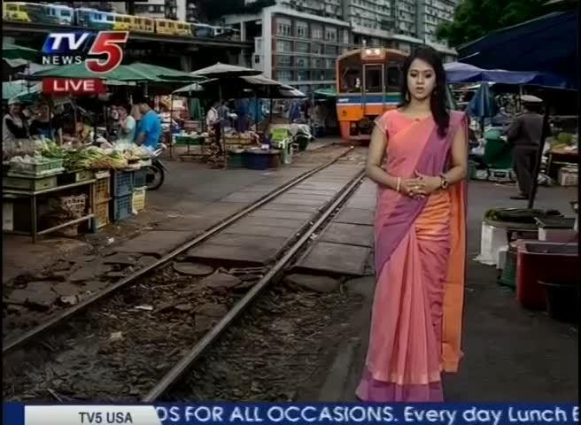 印度TV5 中国/泰国 火车居然可以这样跑 真的假的?