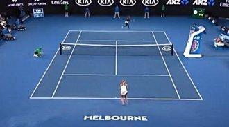 澳网-小威直落两盘 10连胜萨法洛娃挺进第三轮