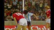 【足球时光机】1980年12月16日友谊赛:阿根廷5-0瑞士(青年马拉多纳一传一射)