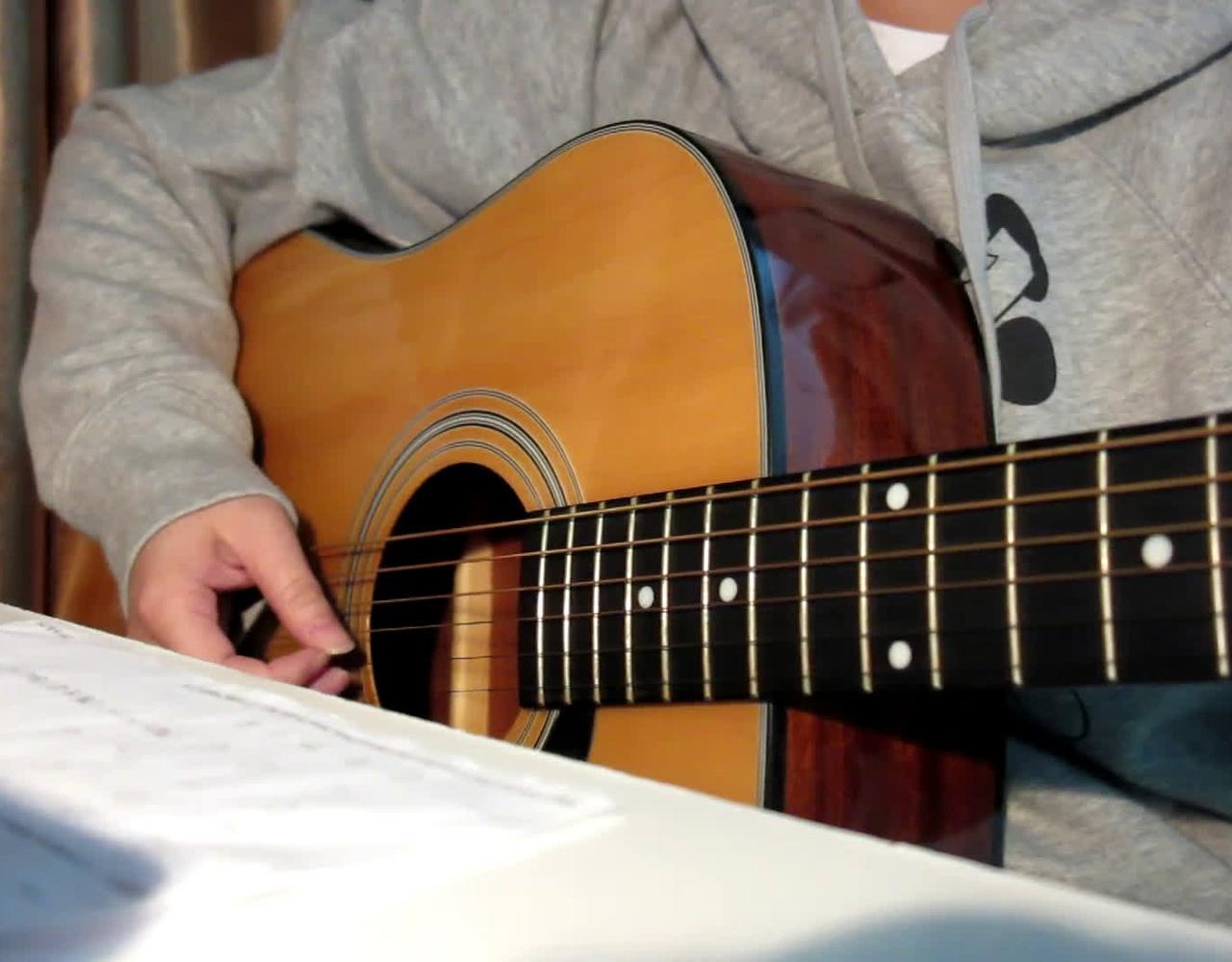 【吉他弹唱】RADWIMPS – 没什么大不了
