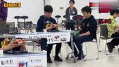 日本魔方锦标赛,冈田典之斜转魔方决赛,打破单次国家魔方记录