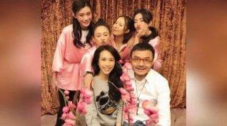 汪涵与陈乔恩谢娜莫文蔚相聚 满屏大长腿高颜值