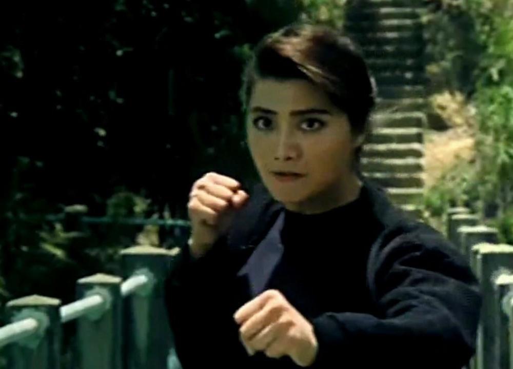 杨丽菁与对手在桥上5分钟的打斗,杀手功夫也很厉害